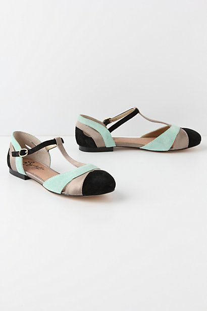 If only. $98: Colors Combos, Fashion Shoes, Cute Shoes, Cute Flats, Summer Shoes, Flats Shoes, T Straps Flats, Ilk T Straps, Girls Shoes