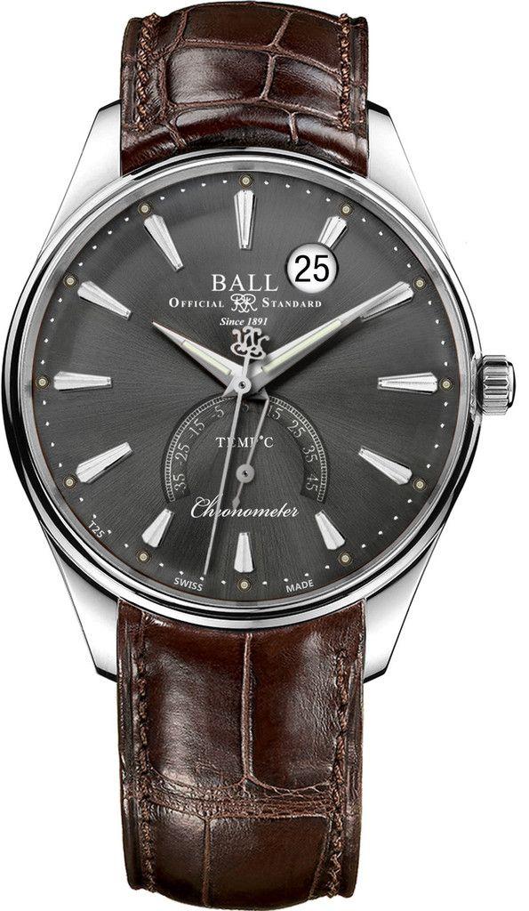 Ball Watch Company Trainmaster Kelvin Celcius #basel-15 #bezel-fixed…