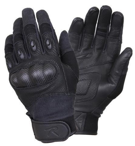Carbon Fiber Hard Knuckle Tactical Gloves - OPSGEAR - 1