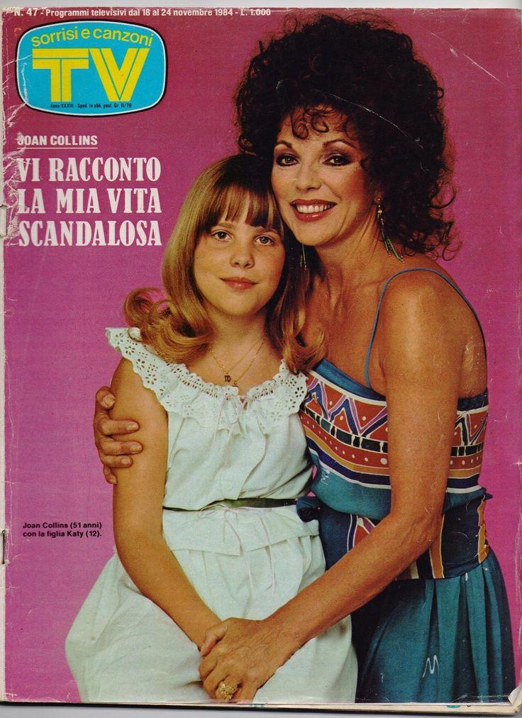 Sorrisi E Canzoni TV 1984 Joan Collins Angelo Branduardi Mannoia Lory DEL Santo | eBay