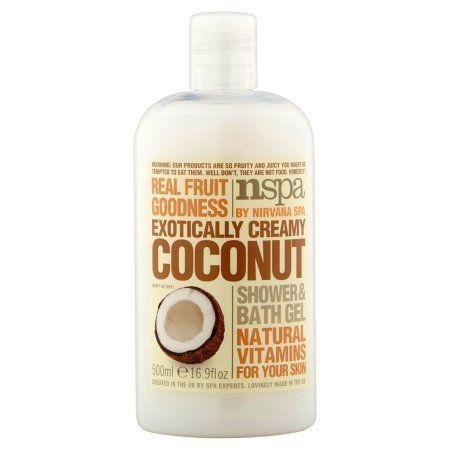 Nspa Exotically Creamy Coconut Shower & Bath Gel, 16.9 fl oz