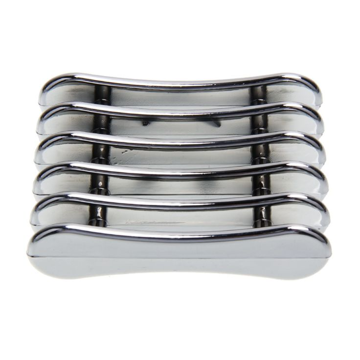Silver Nail Art Brush Holder Set Pen Displayer Stand Tools Acrylic UV Gel Brush Rest Holders for Nail Decorations