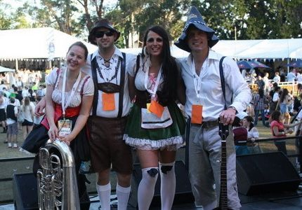 """This 4 piece Oktoberfest band, teases the sounds of """"um-pa-pa"""", with their pick n' mix repertoire of German Polkas, Belgian Waltzes, and array of Beer drinking favourites!"""