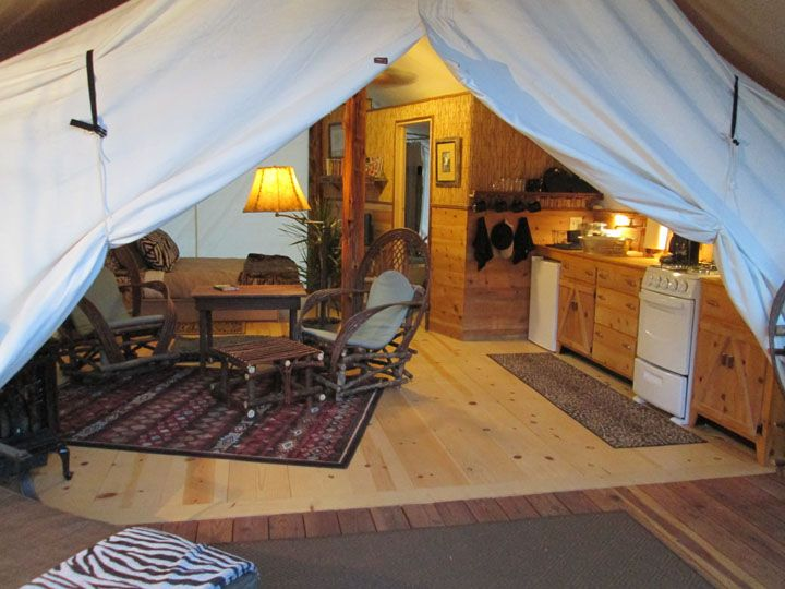 307 best ideas about glamping ideas on pinterest glam for Permanent tent cabins