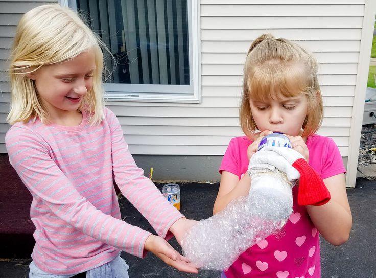 bubble snake sock bubble blower