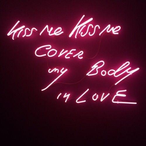 Cover my body in love
