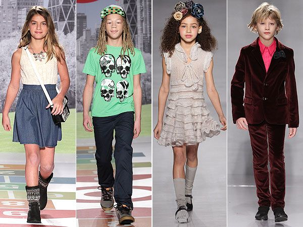 Kiddie Couture:Target designer Bonnie Young PetiteParade Fashion Week March 2013