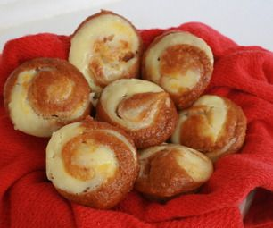 Easy Pumpkin Cheesecake Muffins modified recipe:  1 box spice cake mix 1 can pumpkin blend together  1 8oz. block of cream cheese + 5tbs spoons sugar (mix together)  Dispense pumpkin batter into muffin tins, add a dollop of cream cheese mix on top of each one and swirl with a skewer.  Bake for 25 min. at 375