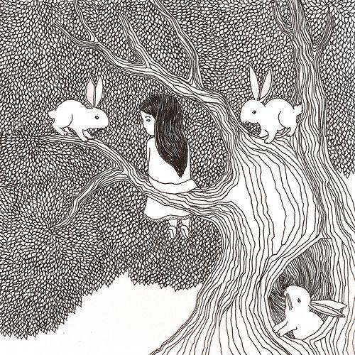 ilustração para almofada promocional by thais beltrame, via Flickr