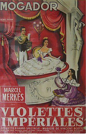Affiches anciennes opérette