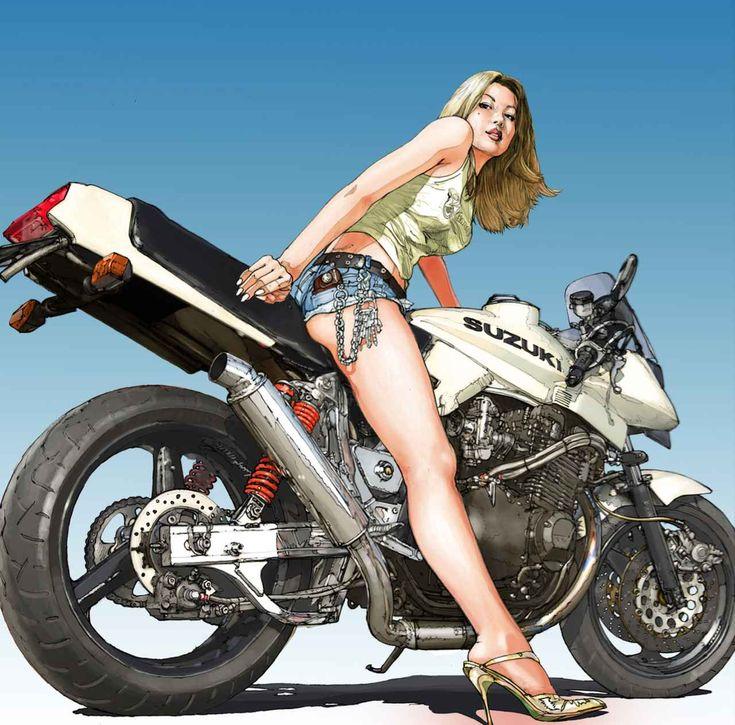 「あれ?うそ!っ」とカタナ乗りの青年が一目見て驚愕・・・ この黒いカタナの秘密とは? - LAWRENCE - Motorcycle x Cars + α = Your Life.
