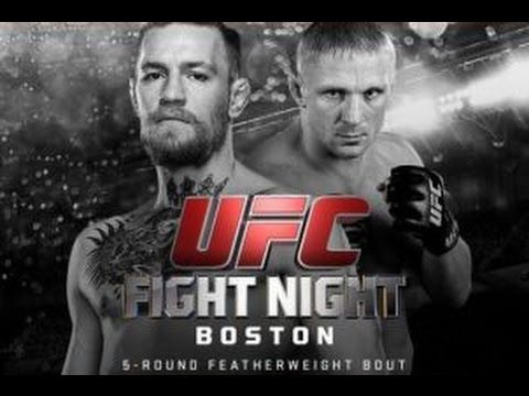 """UFC After Show for UFC Fight Night: """"McGregor vs. Siver""""   AfterBuzz TV"""