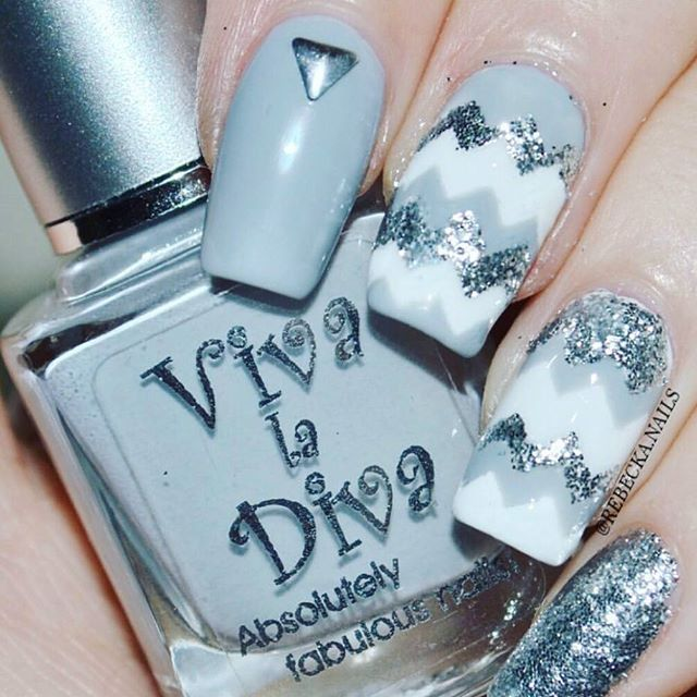 "Weekend with Viva la Diva ""Wall Street""   Nails by: @rebecka.nails  #vivaladivacosmetics #vivaladiva"