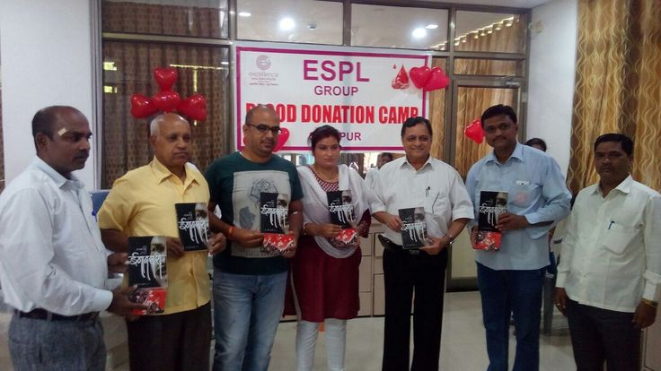 #WorldBloodDonorDay - Blood connects us all! Donating blood is a social responsibility and we are proud to share our successfully going Blood Donation Camp organized by our Excellence's TEAM Solapur on June 14, 2016 on the occasion of World Blood Donor Day.