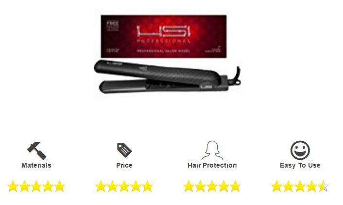 This HSI Professional Flat Iron is considered as one of the best flat iron as it claims to fight hair frizz.