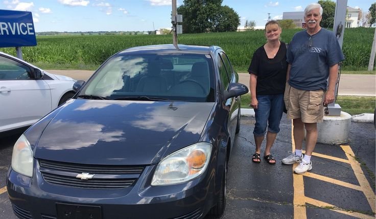 """Nick and Kim, wishing you many """"Miles of Smiles"""" in your 2008 CHEVROLET COBALT!  All the best, Kunes Country Ford Lincoln of Sterling and BOB BAEZA."""