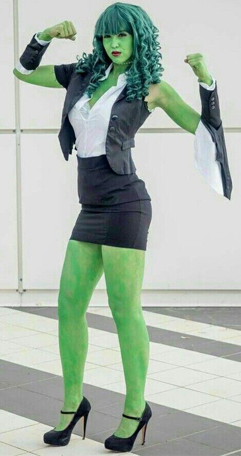 Weiblicher Hulk