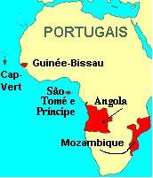 São-Tomé-et-Príncipe La Communauté des pays de langue portugaise  En 1996, le Portugal ainsi que sept de ses anciennes colonies ont fondé laComunidade dos Países de Língua Portuguesa(CPLP), la Communauté des pays de langue portugaise. Les pays membres étaient les suivants: l'Angola, leBrésil, leCap-Vert, laGuinée-Bissau, leMozambique, le Portugal et Sao Tomé-et-Principe.