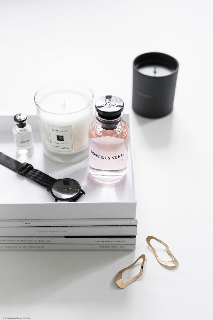 Modern Luxury: Scented Candles & Louis Vuitton Rose des Vents I More on viennawedekind.com
