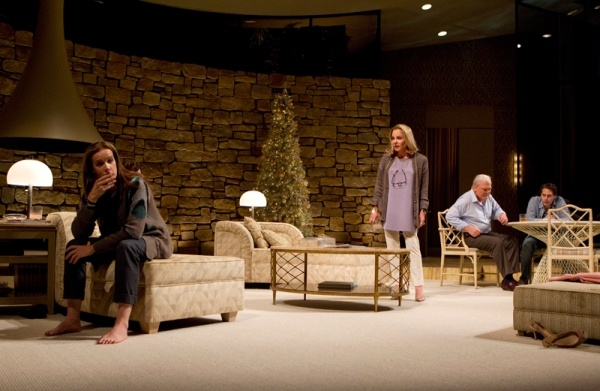 OTHER DESERT CITIES - Rachel Griffiths, Stockard Channing, Stacy Keach and Thomas Sadoski Photo: Joan Marcus