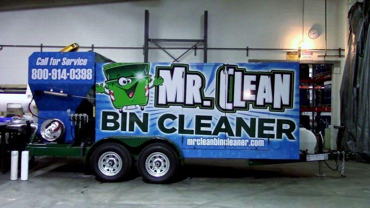 Wheelie Bin Cleaner For Sale Trash Cart cleaner For Sale