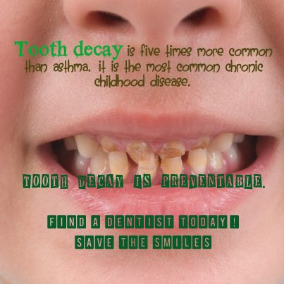 Learn more about early childhood oral health!