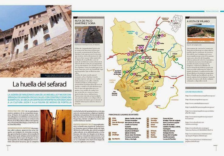 """Monasterio de Veruela: Reportaje sobre """"Tarazona y el Moncayo"""" en la revista Viajar"""