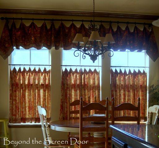 Kitchen Window Cafe Curtains: Best Neutral Paint Colors, Color Palettes And Color Schemes