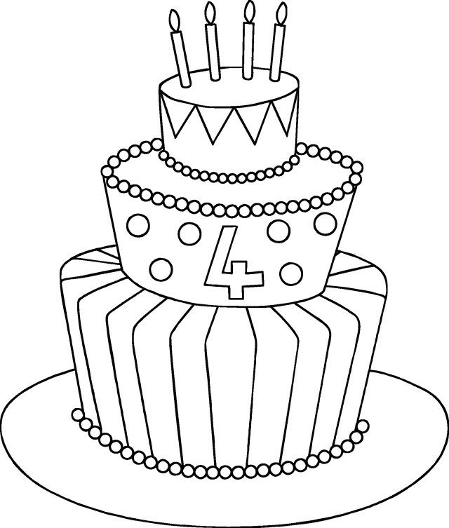 32 awesome image of birthday cake drawing cake drawing
