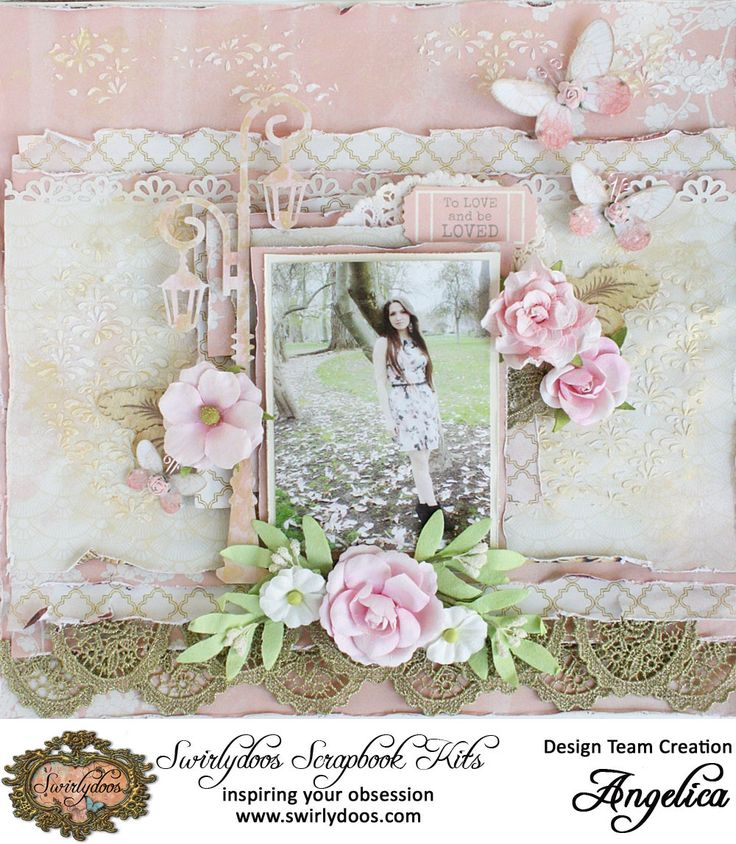*Swirlydoos Kit Club* To be loved - Scrapbook.com