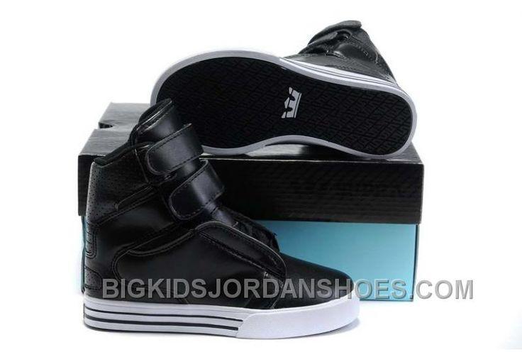 http://www.bigkidsjordanshoes.com/supra-tk-society-kids-black-leather-white-discount.html SUPRA TK SOCIETY KIDS BLACK LEATHER WHITE ONLINE Only $85.00 , Free Shipping!