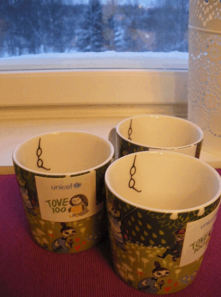 Tove Jubilee Moomin Mugs