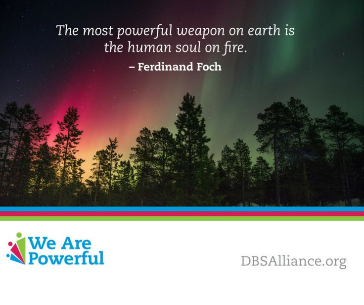 """""""The most powerful weapon on earth is the human soul on fire.""""  – Ferdinand Foch"""