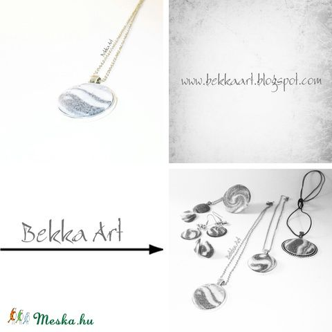 Bekka Art  Necklace  'Sand' nyaklánc, Ékszer, óra, Nyaklánc, Meska