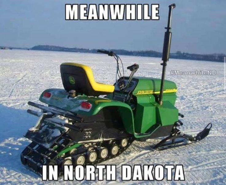 meanwhile  in north dakota