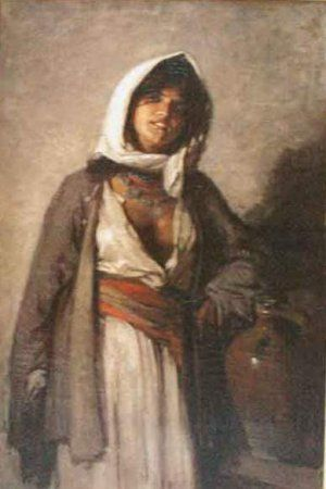 Tiganca de la Ghergani - Nicolae Grigorescu