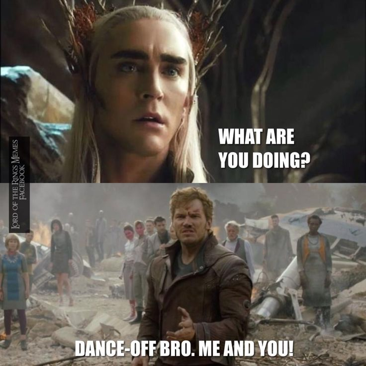 Thranduil should rock at dancing since he is the Party Elf ...