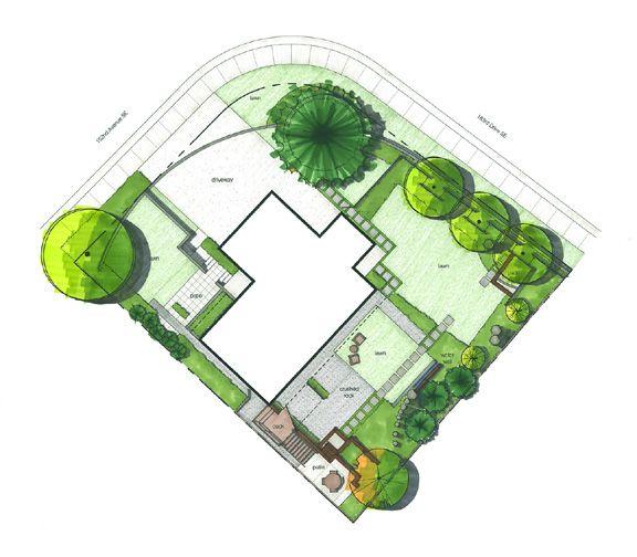 28 best images about landscape drawings on pinterest for Dc landscape design