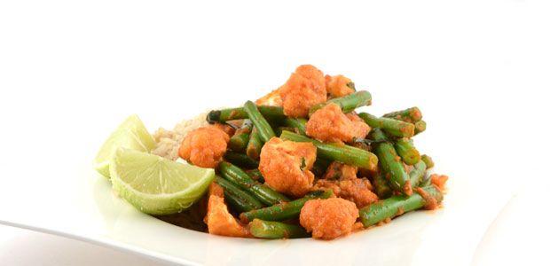Thaise rode curry met rijst recept - Supersnel gezond