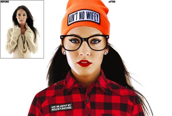 """Aun con este atuendo, Megan Fox sigue siendo """"la mujer maravilla"""""""
