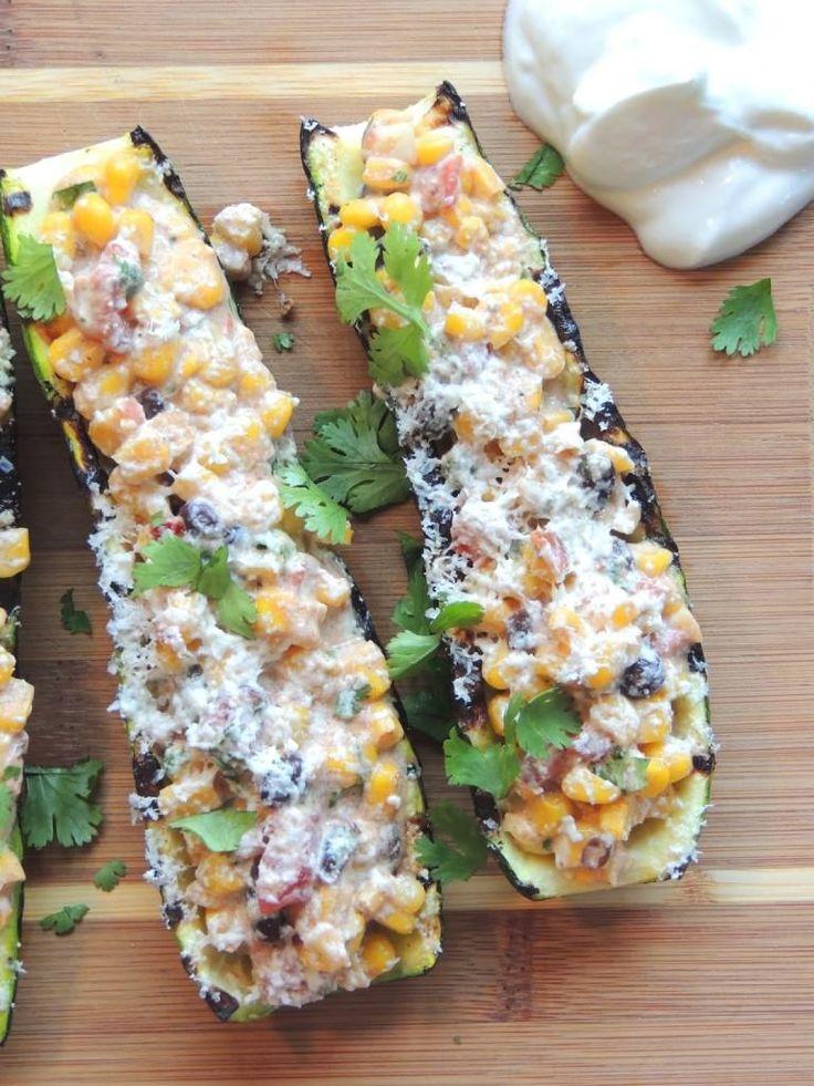 Grilled Baja Corn Zucchini Recipes-Healthy Baked Zucchini Recipes
