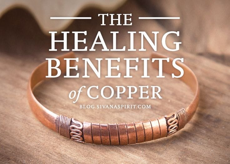 The truth is, copper has been used for thousands of years as a folk remedy for many ailments we see today.