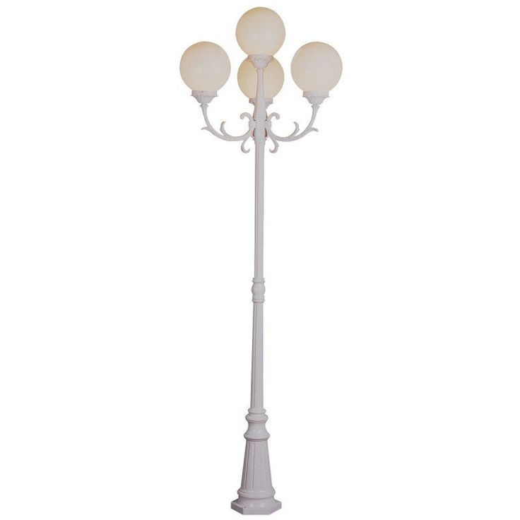 Bel Air Alliance Outdoor Lamp Post - 89H in. - 4080