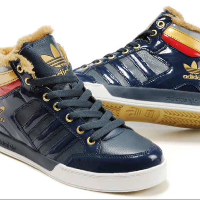 These adidas shoes are sick.