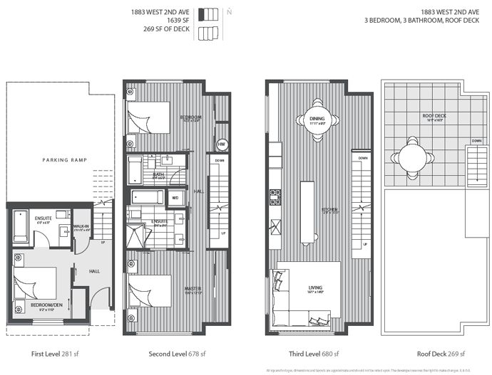 The Four Level Luxury Kits Blanc Vancouver Modern