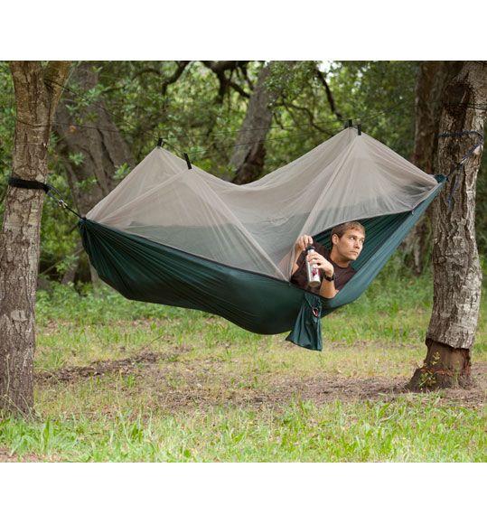 Netted tent / hammock