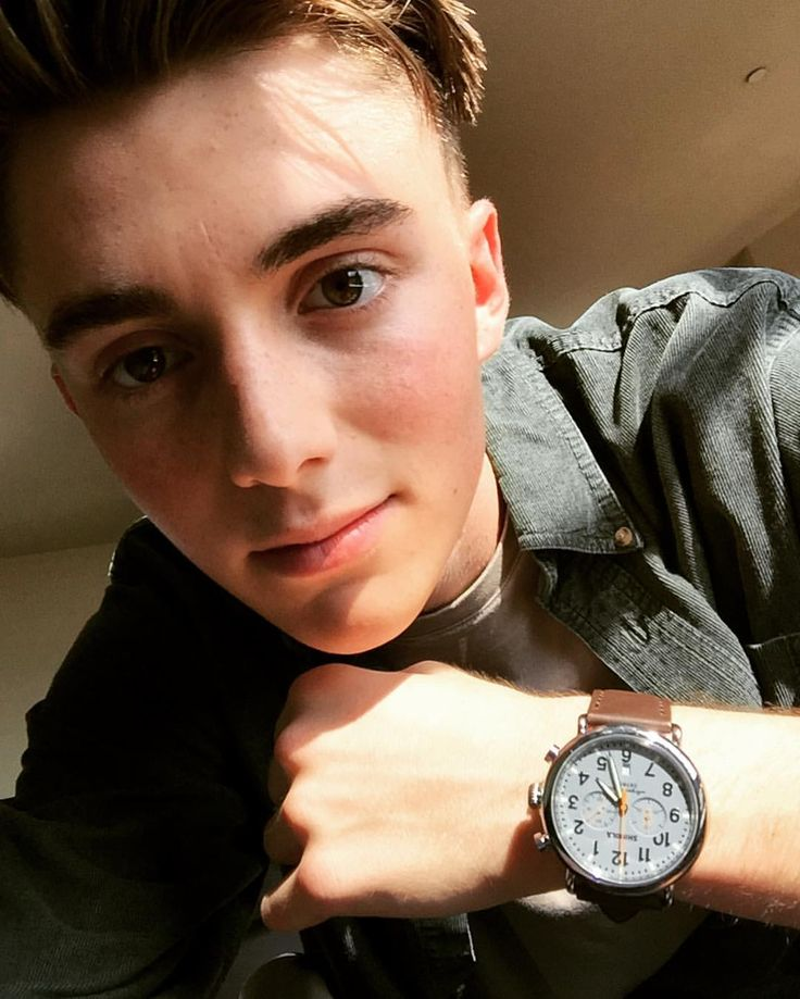 Greyson Chance (and his American watch)