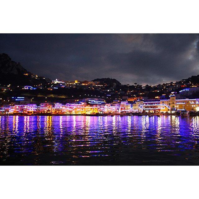 """Instagram【tadashi_takayama】さんの写真をピンしています。 《🌃🌉🌌""""Small vacation was finished""""🌌🌉🌃. . My small vacation was finished....continue to work very hard💪😊. . 短いバケーションもあっという間に終了しました。 引き続きお客様に喜んで貰えるよう素晴らしいディッシュを作って行きたいと思います😉 写真はイタリア、カプリ島にて📸。 . #vacation #finish #italy #capri #イタリア #カプリ #カプリ島 #夜景 #休暇 #nightview #isola #バケーション #tadashitakayama》"""