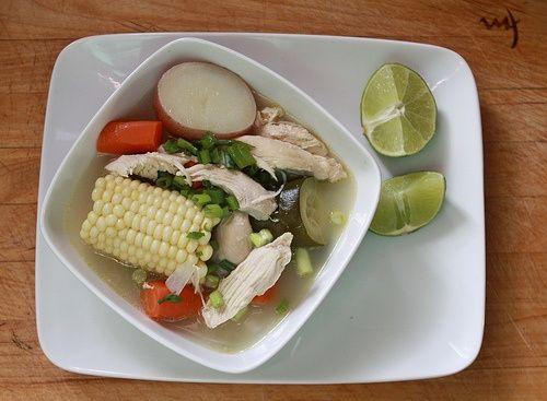 Caldo de Pollo  Mexican Food Comida Mexicana