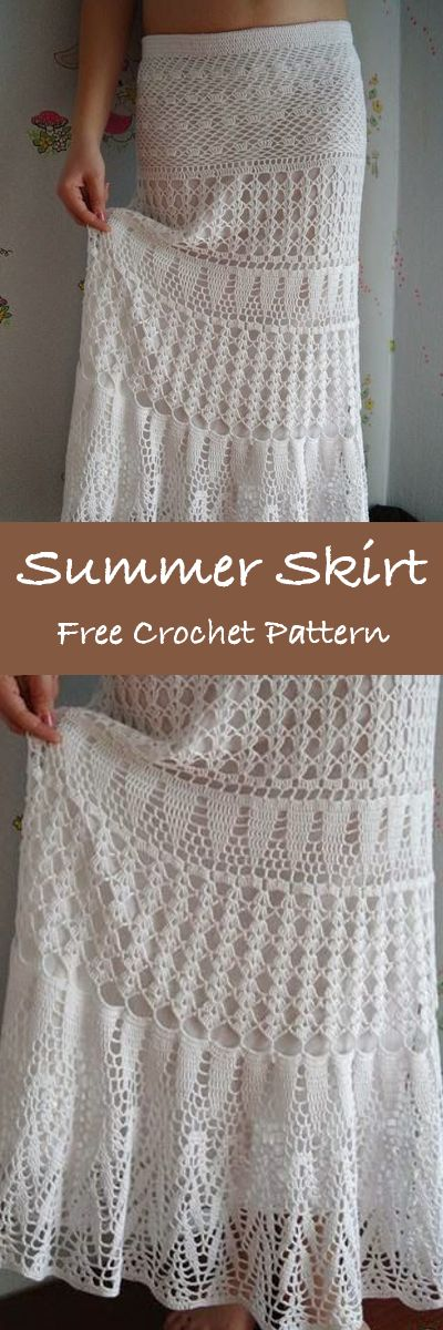 Free Crochet Pattern for Stunning Maxi Skirt – Summer Maxi Skirt to Treasure (Crochet patterns) 3